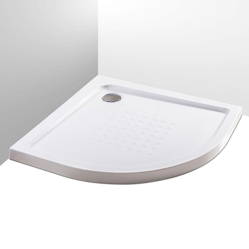 piatto doccia semicircolare acrilico