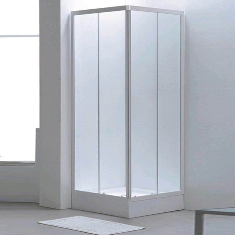 box doccia profilo bianco