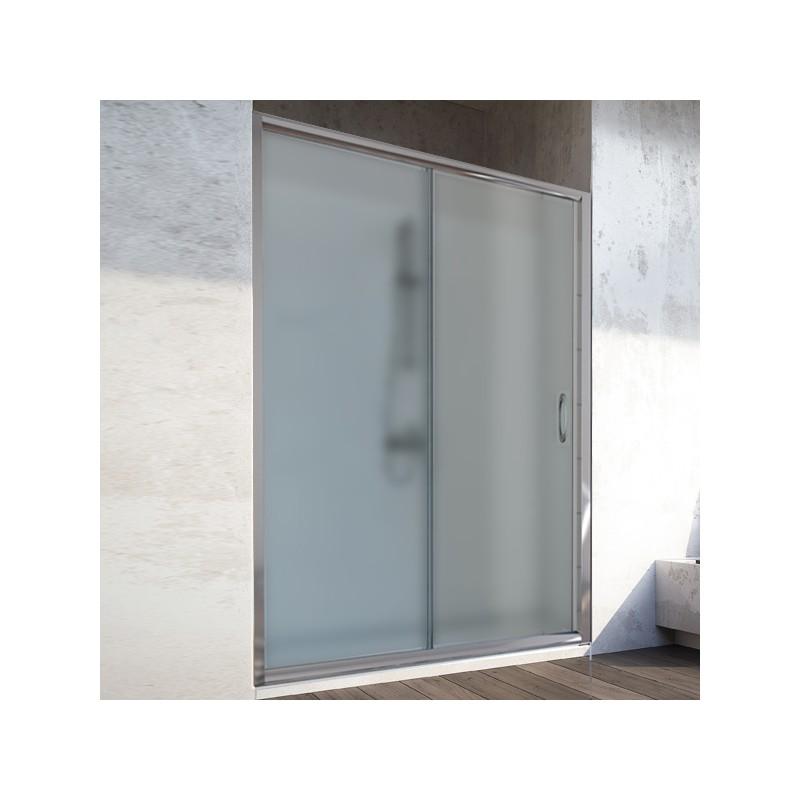 porta doccia scorrevole nicchia